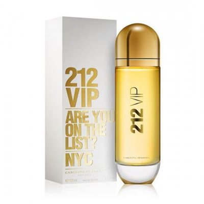 "212 ויאיפי קרולינה הררה 125 מ""ל א.ד.פ Carolina Herrera 212 VIP E.D.P 125ml"